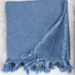 Handtuch Wash 100 x 50 cm | Denim
