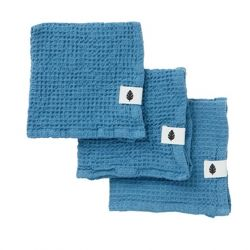 Set of 3 Wash Cloth Waffly | Atlantic