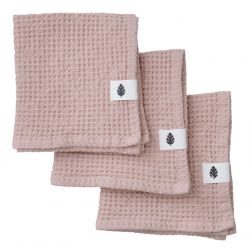 Set of 3 Wash Cloth Waffly | Nude