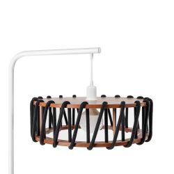 Floor Lamp Macaron White 45 cm | Black