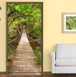 Wall Sticker Door 90 x 210 cm | Jungle Catwalk Style