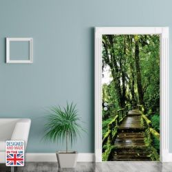 Wall Sticker Door 90 x 200 cm | Greenery
