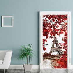 Wall Sticker Door - 90Cm x 200 cm | Paris