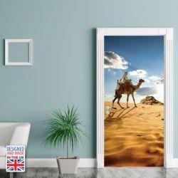 Wall Sticker Door 90 x 200 cm | Roaming The Desert