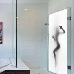 Wall Sticker Door - 2 Sheets | Sexy Shower Door