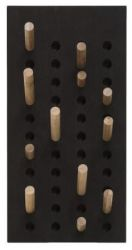 Small Coat Rack Scoreboard | Dark