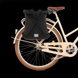 Rucksack & Fahrradtasche City | Schwarz