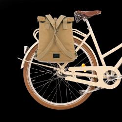 Rucksack & Fahrradtasche City | Sandfarben
