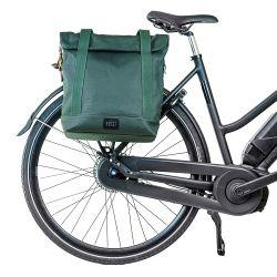 Einkaufs- und Fahrradtasche City Tote | Grün