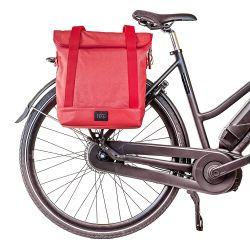 Einkaufs- und Fahrradtasche City Tote | Rosa
