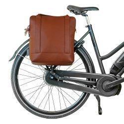 Einkaufs- und Fahrradtasche Urban | Braun