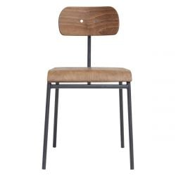 Dining Chair School | Brown