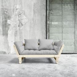 Beat Sofa Bed | Natural | Light Grey