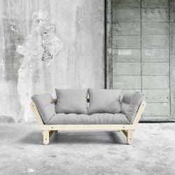Beat Sofa-Bett | Natur| Hellgrau
