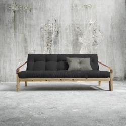 Poesie-Sofabett | Natürlicher Rahmen