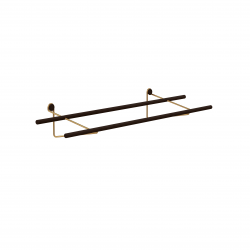 Shoe Rack | Dark-Brass