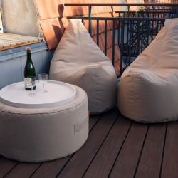 Outdoor-Lounge-Set Wochenendbalkon | Beige
