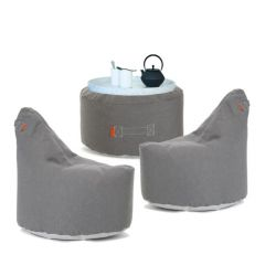 Outdoor Lounge Set Weekend Balcony | Grey