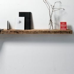 Reclaimed Wood 01 Wall Shelf | Large