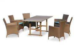 Gartenmöbel-Set WEOD002 | Akazienholz