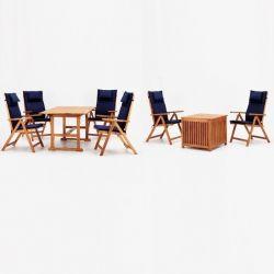 Gartenmöbel-Set WEOD006 | Akazienholz