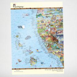 Worldmap | West Coast