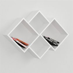 Oyo Book Shelf White