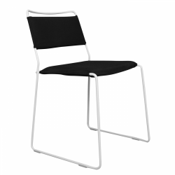 Chair One Wire | White & Black