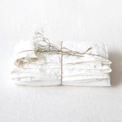 Fitted Bed Sheet | White