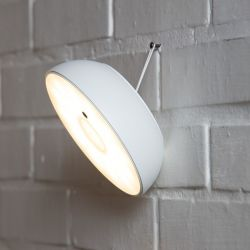 Outdoor Wall or Pendant Lamp Float | White