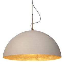 Pendant Light Mezza | White/gold