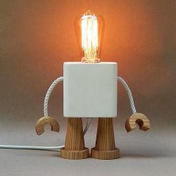 Robo Lamp | White