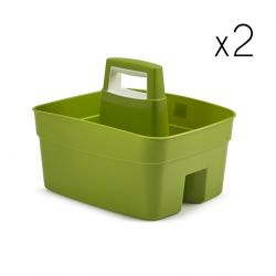 Kitchen Caddy Green | Set of 2