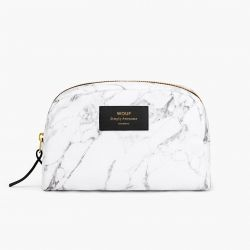 Make Up Bag Big Beauty | White Marble