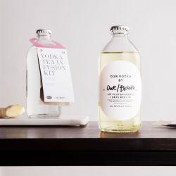Unser/Berliner Wodka-Aufguss-Set Weißer Tee