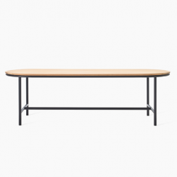 Outdoor Dining Table Wicked 200 x 90 x 76 cm | Light Wood