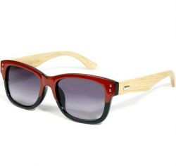 Eco Unit.T Wide Eyed Sunglasses Red