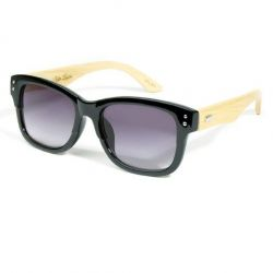 Eco Unit.T Wide Eyed Sunglasses Black