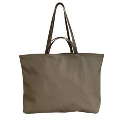 Tote Bag Wide Assam | Taupe