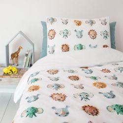 Einzelbett-Deckenbezug | Wildtiere