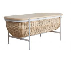 Storage Bench Willow | White