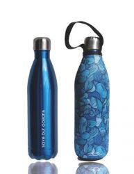 Gourde Future Bottle 750 ml + Housse | Vent