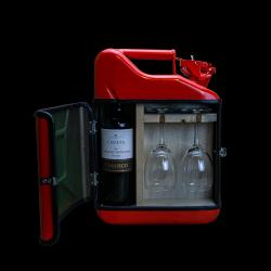 Coffret Cadeau Jerrycan Bar Vin 10 L | Rouge