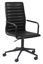 Desk Chair Brandy | Black