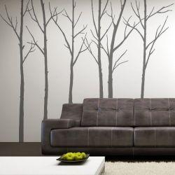 Winterbomen Grijs