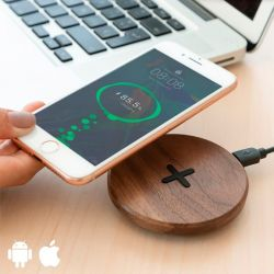 Wireless Charger Walnut Wood