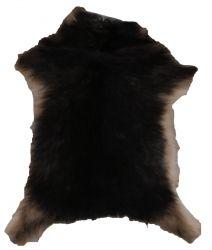 Unique Goatskin | Dark Brown & Beige