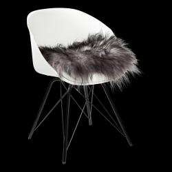Isländisches Sitzpolster | Grey Melange