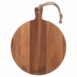 Serving Tray Pure Walnut Wood | Round I