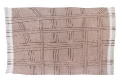 Wool Rug Africa Collection Shuka | Dusty Pink